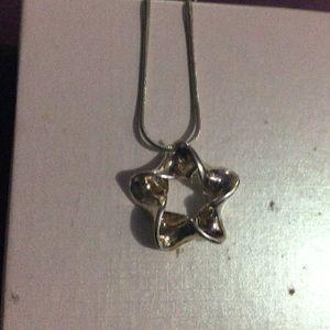 Star lariat pendant